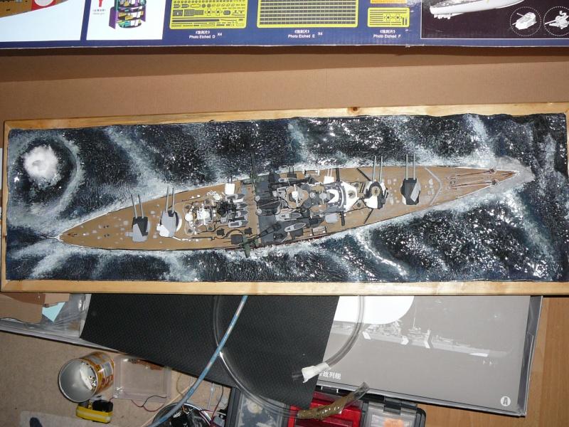 Revell 1:350 Tirpitz Ätzteile-orgie  Abschliessende Bildergalerie... P1130047