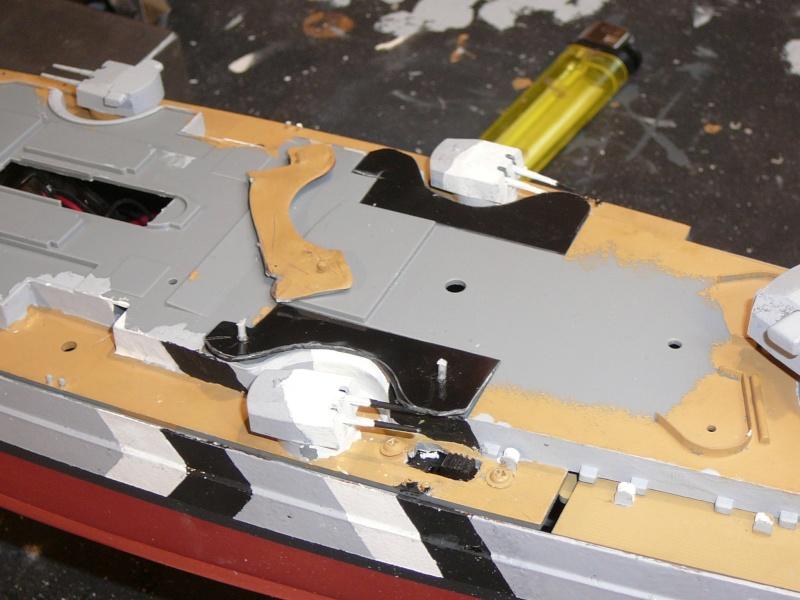 Eliminator´s Geschenk wird gebaut...1:350er RC Bismarck P1130126