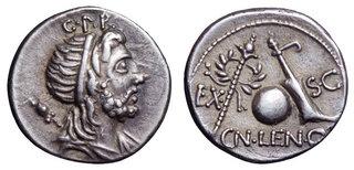 gloire et trépas du Genius Populi Romani Lentul11