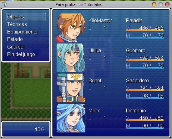( VX / VX Ace)- Nuevo Engine Captura de Enemigo o Moustruo / Pokemon 1.0 Engine26