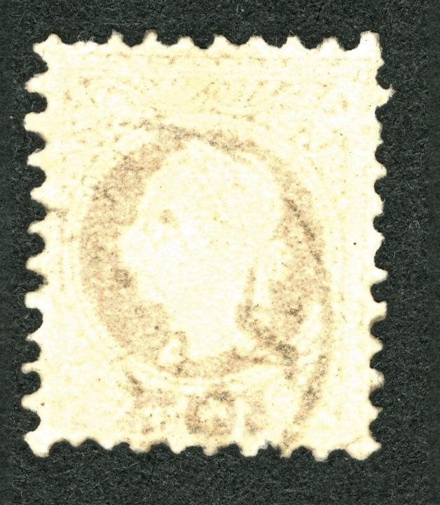 Nachtrag - Freimarken-Ausgabe 1867 : Kopfbildnis Kaiser Franz Joseph I 15_kr_12