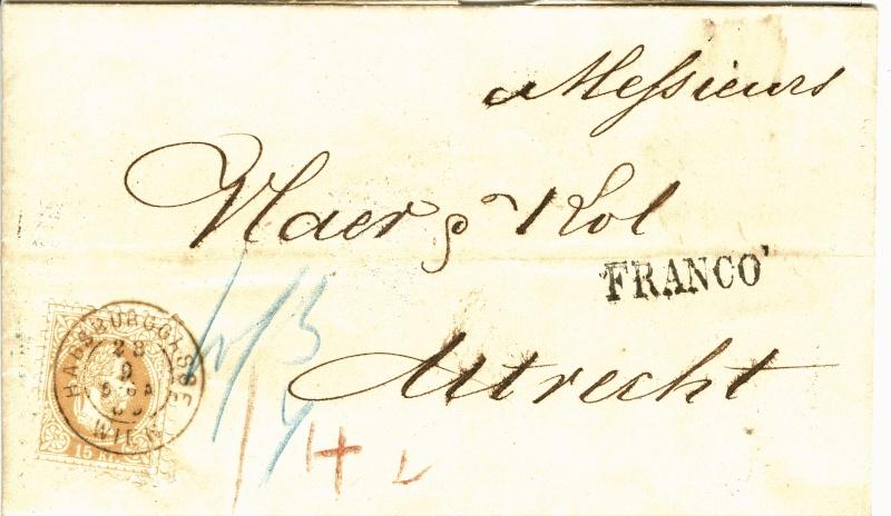 Freimarken-Ausgabe 1867 : Kopfbildnis Kaiser Franz Joseph I - Seite 2 15_kr_14