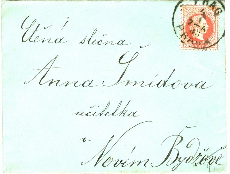 Nachtrag - Freimarken-Ausgabe 1867 : Kopfbildnis Kaiser Franz Joseph I 5_kr_f12