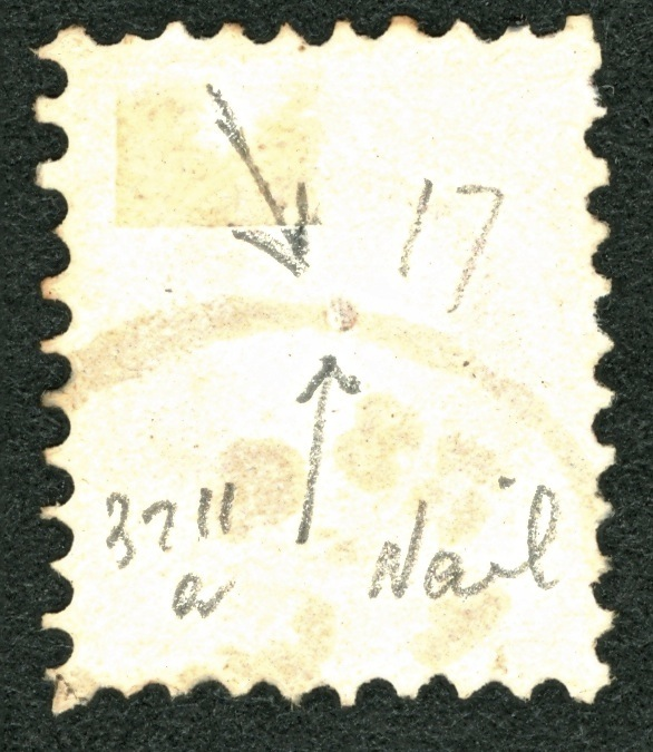 Nachtrag - Freimarken-Ausgabe 1867 : Kopfbildnis Kaiser Franz Joseph I A37_na11