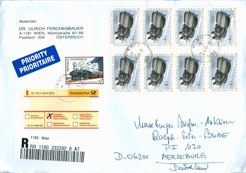 Sammlung Bedarfsbriefe Österreich ab 1945 - Seite 4 Austri14