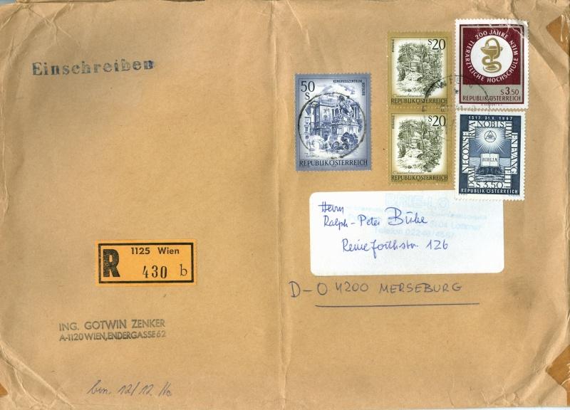 Sammlung Bedarfsbriefe Österreich ab 1945 - Seite 4 Austri15