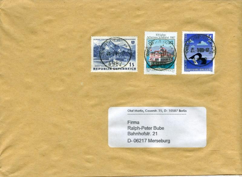 Sammlung Bedarfsbriefe Österreich ab 1945 - Seite 4 Austri16