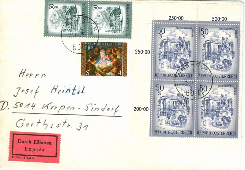 Sammlung Bedarfsbriefe Österreich ab 1945 - Seite 4 Austri19