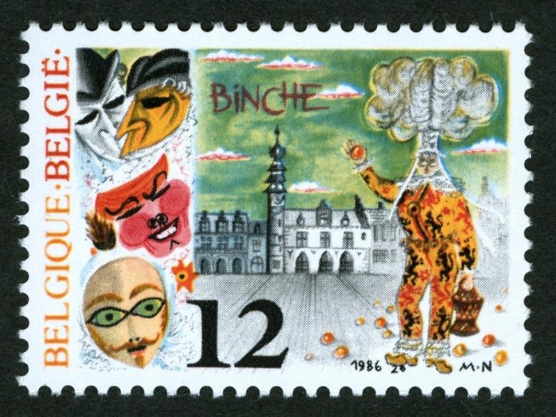 Fasching und Karneval Binche10