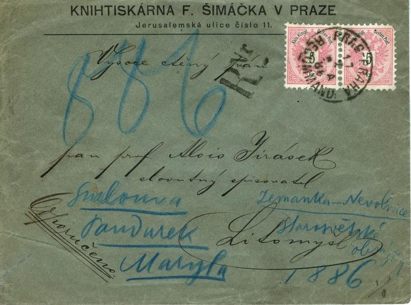 Briefe oder Karten von/an berühmte oder bekannte Personen Brief_11