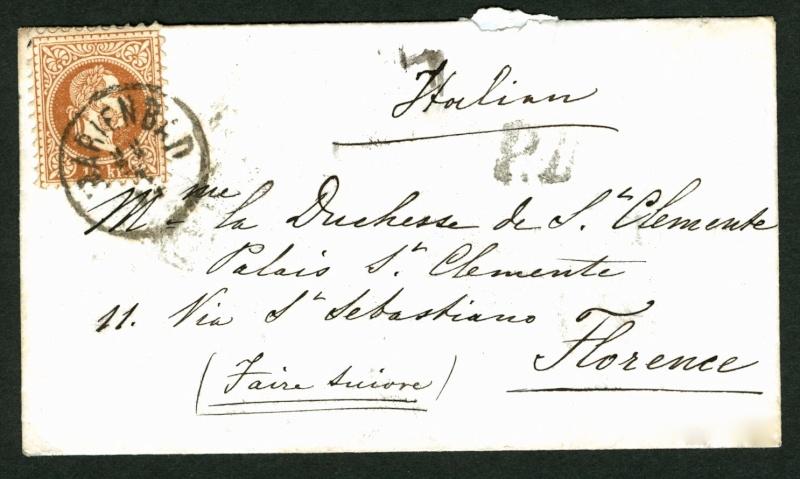 Freimarken-Ausgabe 1867 : Kopfbildnis Kaiser Franz Joseph I - Seite 2 Marien10