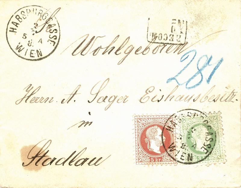 Freimarken-Ausgabe 1867 : Kopfbildnis Kaiser Franz Joseph I - Seite 2 Orts_r10