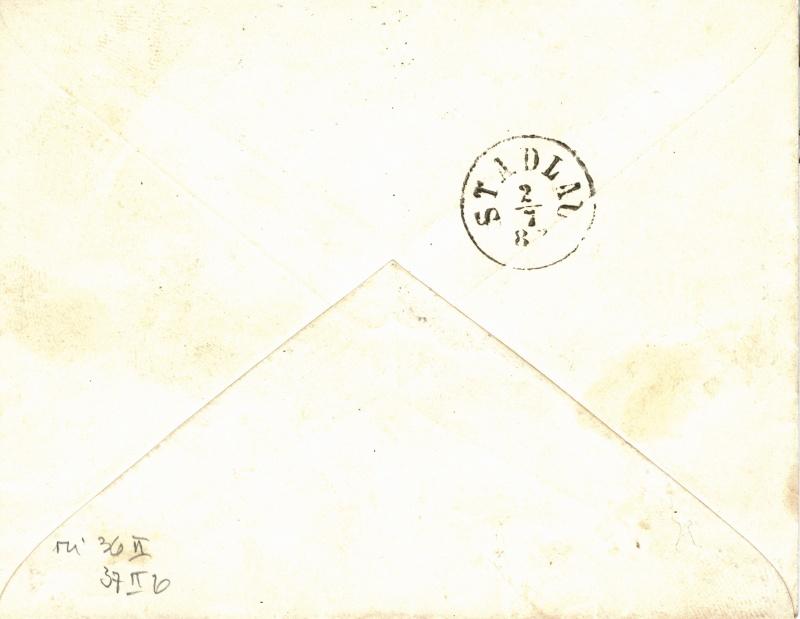 Freimarken-Ausgabe 1867 : Kopfbildnis Kaiser Franz Joseph I - Seite 2 Orts_r11