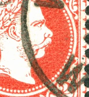 Freimarken-Ausgabe 1867 : Kopfbildnis Kaiser Franz Joseph I Papier11