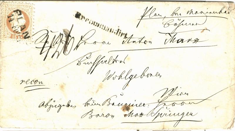 Freimarken-Ausgabe 1867 : Kopfbildnis Kaiser Franz Joseph I - Seite 2 Plan-w10