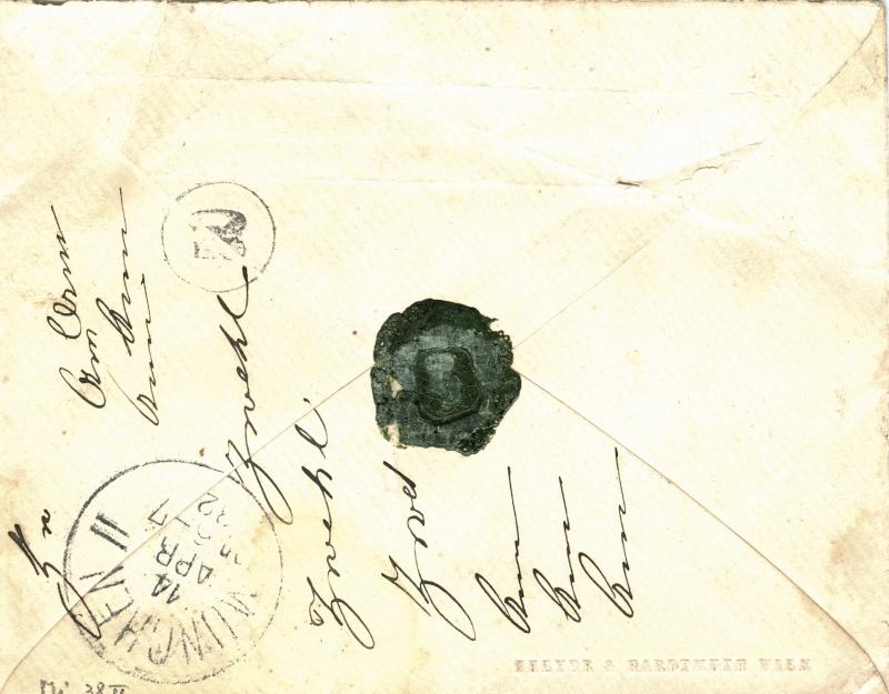 Freimarken-Ausgabe 1867 : Kopfbildnis Kaiser Franz Joseph I - Seite 2 Reko_b11