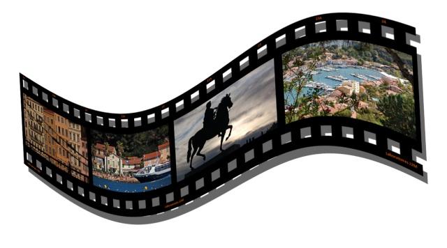 Créer une pellicule photo-diapo avec Photoshop Elements 10 Pellic11