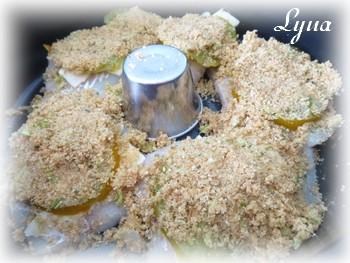 Filets d'aiglefin cuisson sans le bras central - Actifry Aiglef11