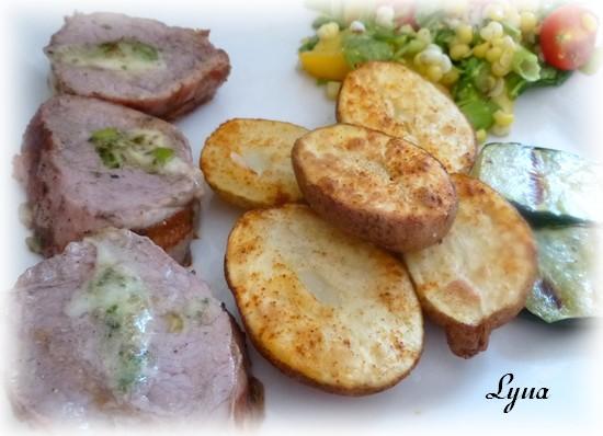 Petites pommes de terre grillées sans le bras central - Actifry Filet_15