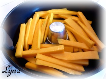 Frites de courge butternut (actifry) Frites10