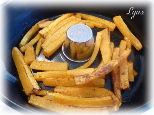 Frites de courge butternut (actifry) Frites11