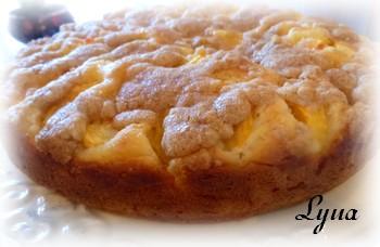 Gâteau aux pêches Gateau11