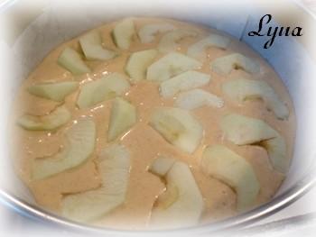 Gâteau aux pommes Gateau16