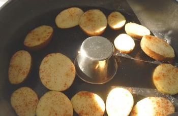 Petites pommes de terre grillées sans le bras central - Actifry Patate10