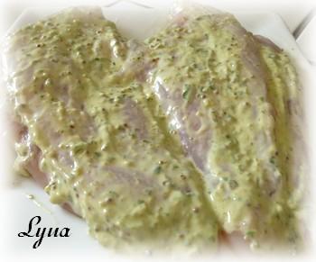 Poitrines de poulet panées - Actifry (sans le bras central) Poulet10
