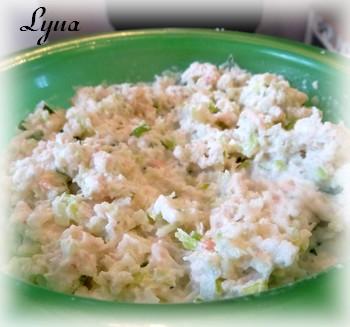 Salade de crevettes nordiques en hors-d'oeuvre Salade10