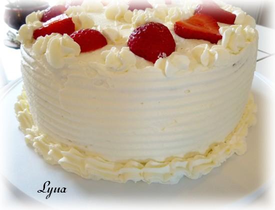 Shortcake aux fraises - gâteau éponge Shortc14