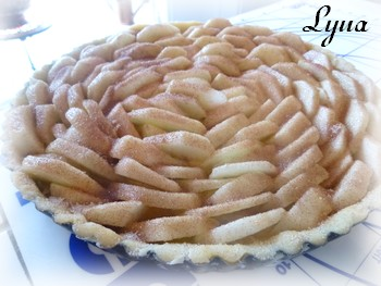 Tarte aux pommes à la frangipane Tarte_11