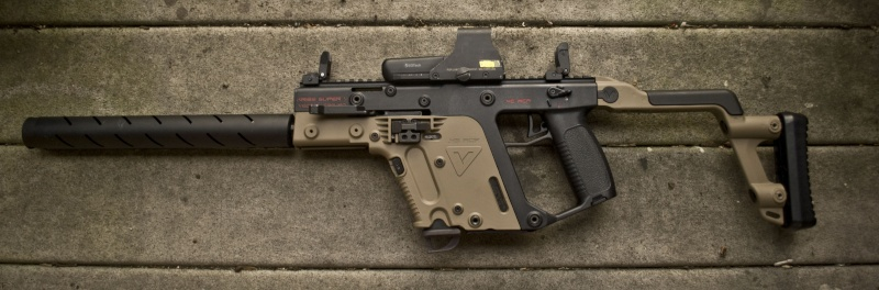 Cerakoted KRISS Vector parts Kriss_11