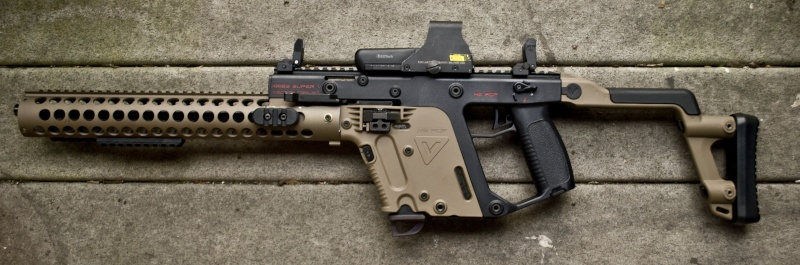 Cerakoted KRISS Vector parts Kriss_12
