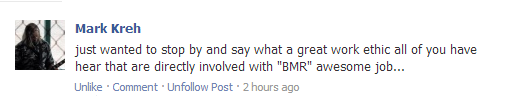 Print Screens of Love from Bands and Fans of BMR Mark_k10