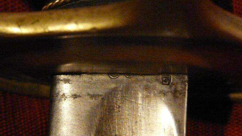 Demande de rensignements sabre modèle 1822 P1030816