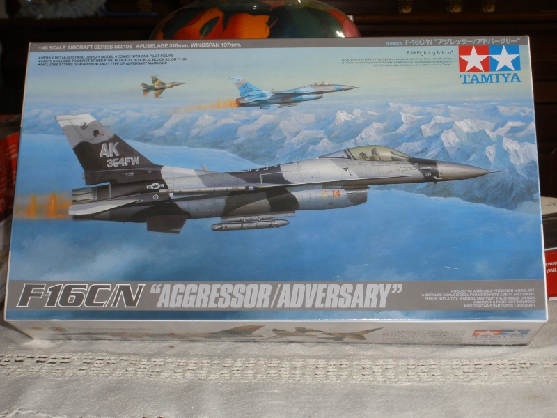 "F-16 ""Aggressor/Adversary"" Tamiya 1/48. P2210110"