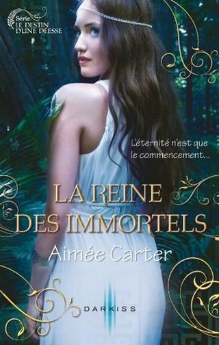 LE DESTIN D'UNE DEESSE (Tome 02) LA REINE DES IMMORTELS de Aimée Carter Le-des10