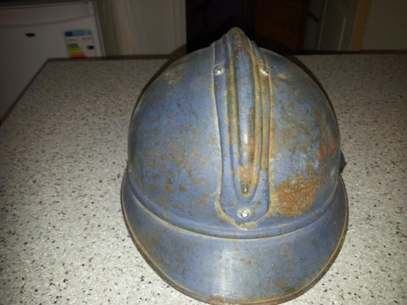 Un casque 1915 siam thailande officier sans interieur 20130914