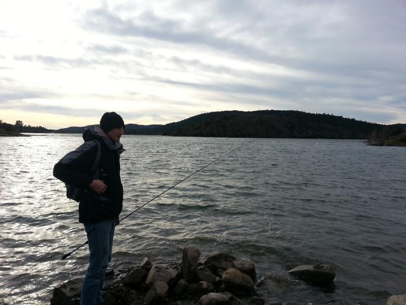 Lac de Saint Cassien pour les vacances de Noel !!! 20121214