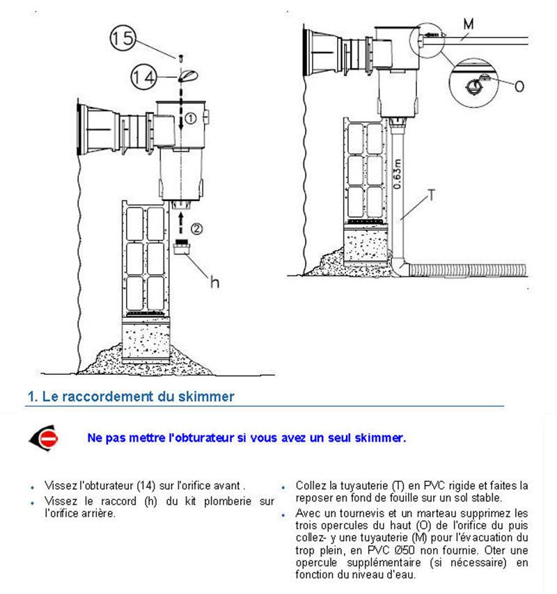 Achat skimmer de remplacement filwat Skimme11
