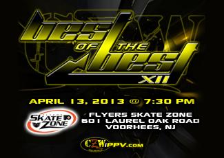 [Vidéo] CZW Best Of The Best 12 du 13/04/2013 Bestof10