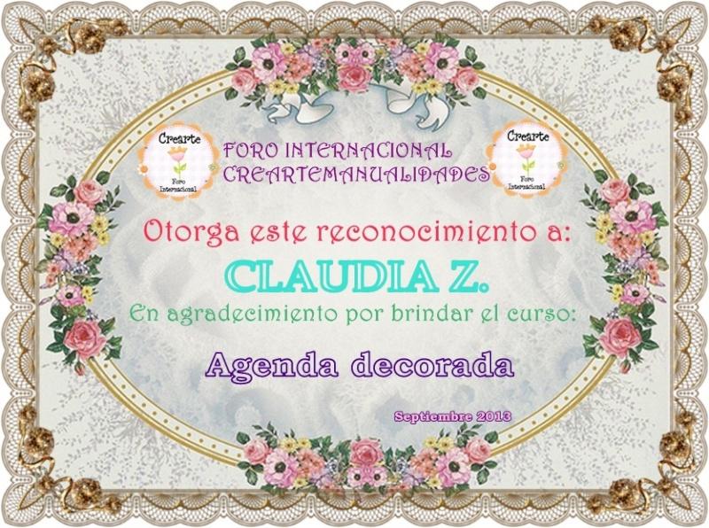 Nuestro agradecimiento a Claudia Z. 229