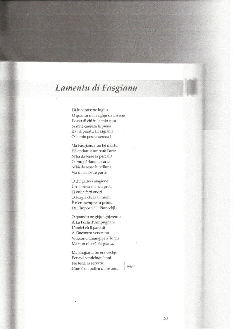 Voceri è Lamenti tradiziunali - Page 2 Numari39