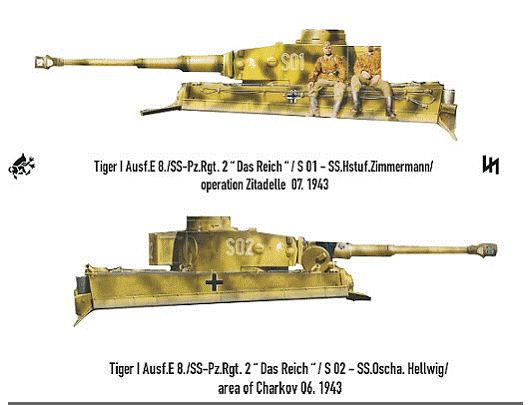 Taigen Tiger I, Early Version;  My Next Project Rctank11