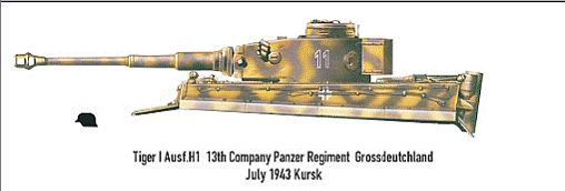 Taigen Tiger I, Early Version;  My Next Project Rctank12
