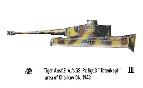 Taigen Tiger I, Early Version;  My Next Project Rctank13