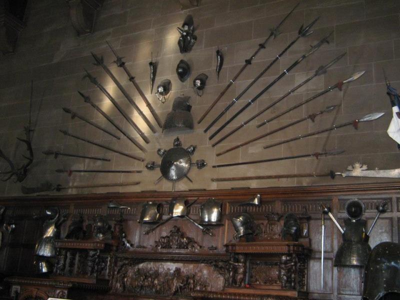 Warwick Castle  Armes10