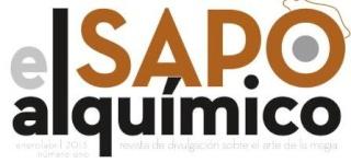LISTADO DE REVISTAS EL SAPO ALQUÍMICO Sapoal11