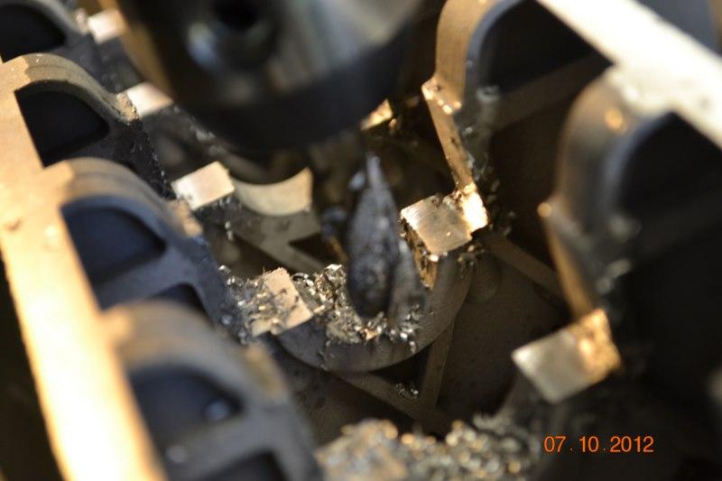 Construction du Rolls-Royce Merlin à l'échelle 1/4 10_80010